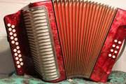 Accordion..Hohner Double Ray Deluxe Black dot for sale in Kerry