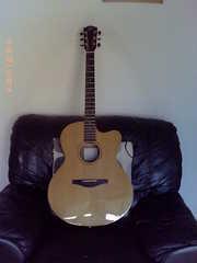 Avalon silver series electro-acoustic guitar
