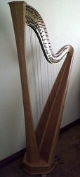 Grecian Erard Pedal Harp